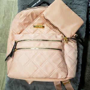 Steve Madden blush color with gold trim Backpack